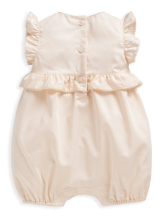 Embroidered Frill Romper image number 2
