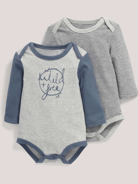 Wild & Free Bodysuits (2 Pack) image number 1