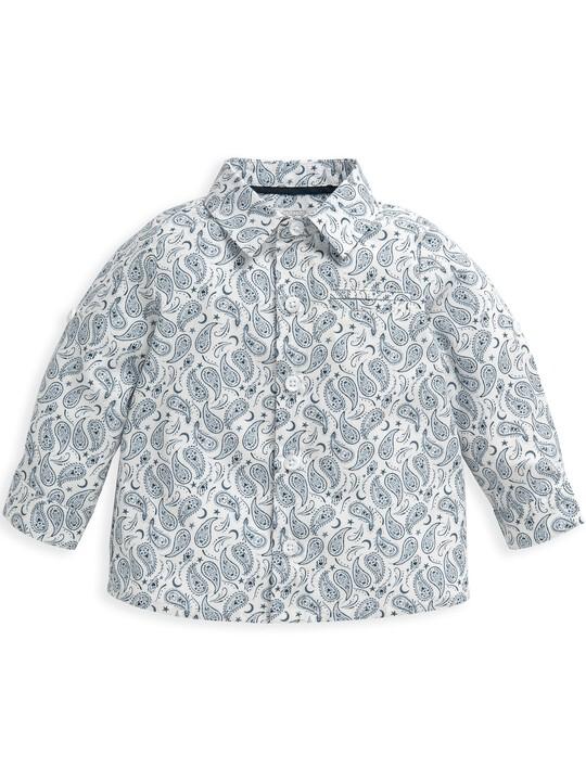 Ditsy Paisley Print Shirt image number 1