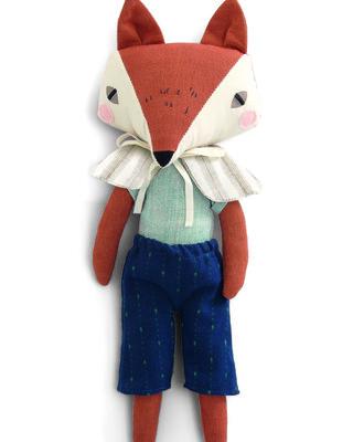 Soft toy - fox - Abi brown