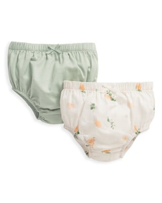 2 Pack Floral Knickers