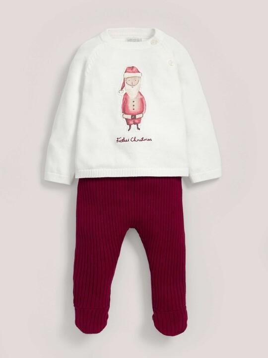 Santa Knitted Set image number 1