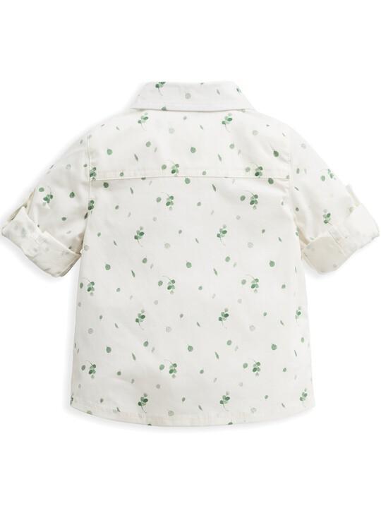Leaf Print Shirt image number 4