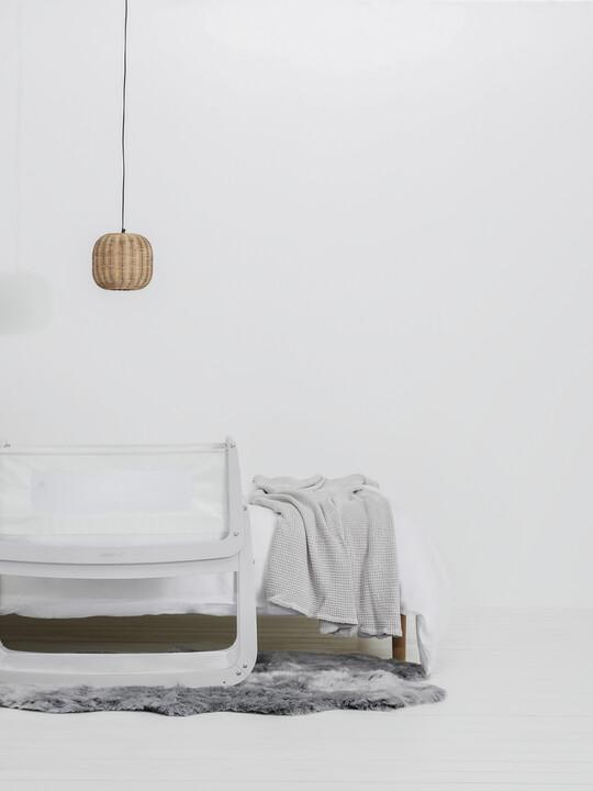 SnuzPod4 Bedside Crib - Haze Grey image number 3