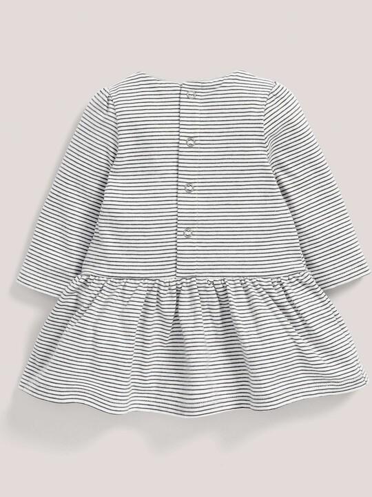 Striped Jersey Skater Dress image number 2