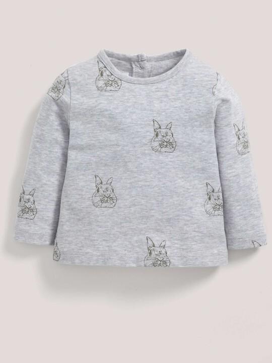 Bunny Print T-Shirt image number 2