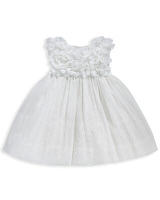 Corsage Yoke Dress