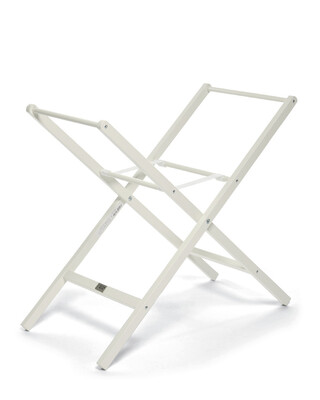 Deluxe Stand for Moses Basket - Ivory
