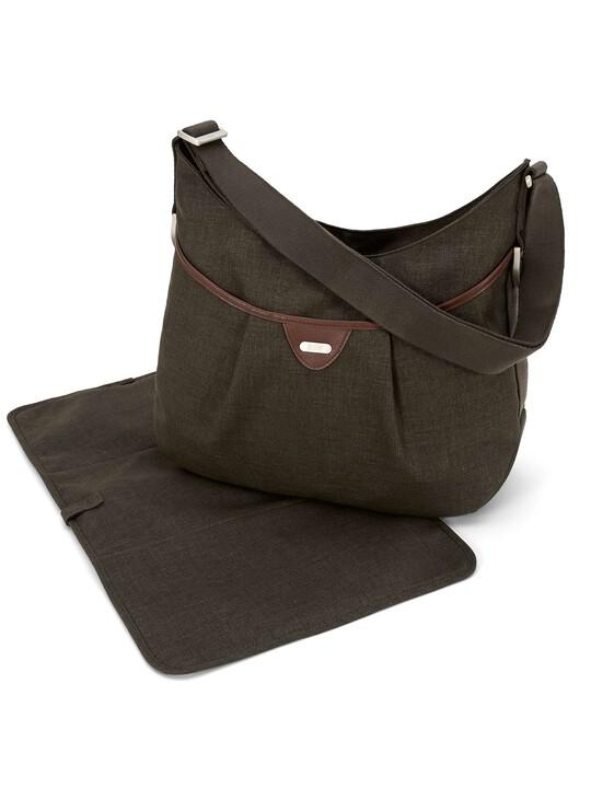 Ellis Shoulder Bag Tweed - Khaki image number 2