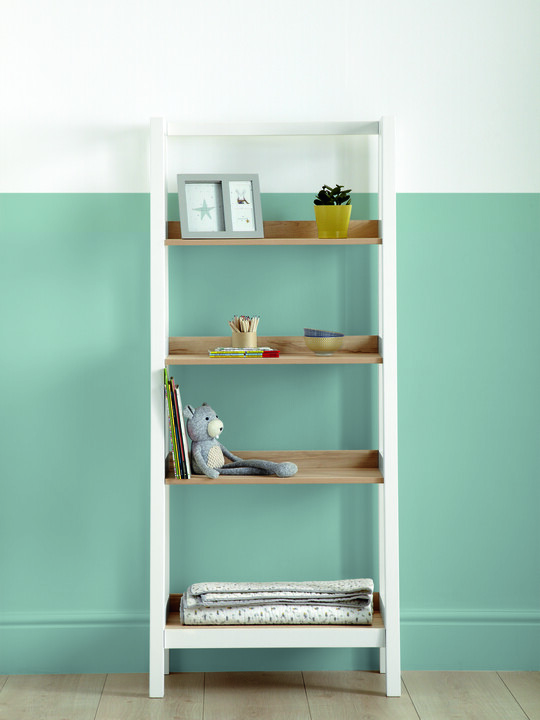 Lawson Bookcase - Natural/White image number 5