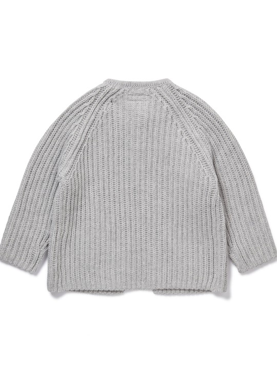 Knitted Bow Cardigan image number 2