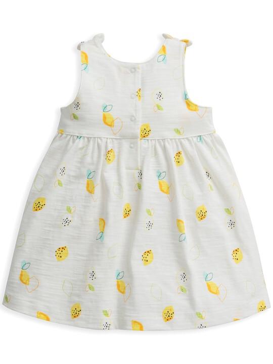 Lemon Print Jersey Dress image number 2