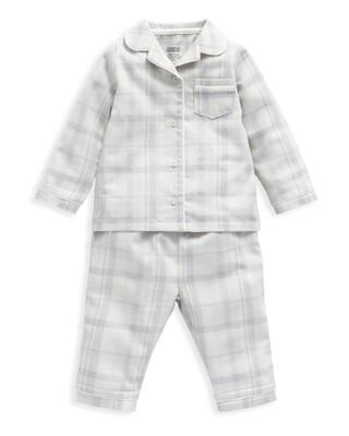 Woven Check Grey Pyjamas